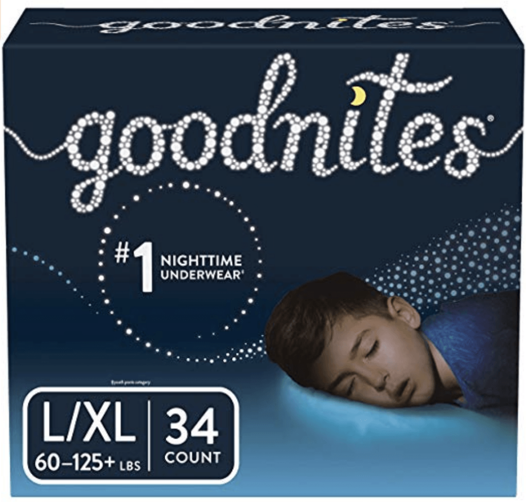 Goodnites XL Underpants for bedwetting