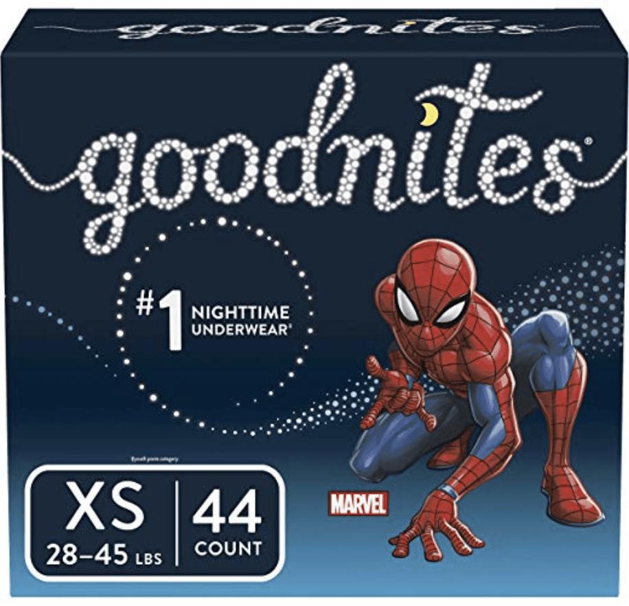Goodnites XS