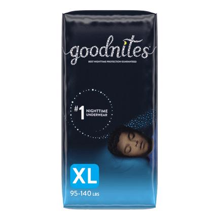 GoodNites XL Package